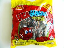 100ct VERO PICA GOMAS WATERMELON GUMMIES W CHILLI SANDIA PICAGOMAS MEXICAN CANDY
