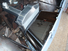 Triumph TR4 polished stainless radiator cowl
