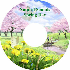 Natural Sounds Spring Day & Music CD Relaxation Stress Relief Sleep Aid Peace
