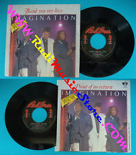 LP 45 7'' IMAGINATION Thank you my love Point of no return 1984 no cd mc dvd