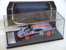 HPI 1/43 McLaren F1 GTR BMW V12 Gulf Davidoff 2. LeMans 1997 LM Raphanel Gounon