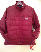 The North Face TNF Biking Red Puffer Mens Brecon Large Jacket Coat NWT $150