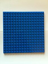 "Lego Blue Base Plate 16x16 Dot 5""x5"" Part 4610305 Roof Floor Platform Board"