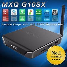 Premium KODI MXQ G10SX 4K Quadcore Android Media Streaming TV Box Movie/TV/Sport