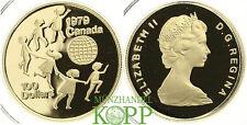 AA1238)  KANADA 100 Dollar Kanada Jahr des Kindes 1979 GOLD