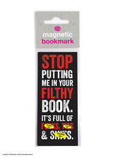 Brainbox Candy Filthy Book magnetic bookmark rude funny cheap gift present