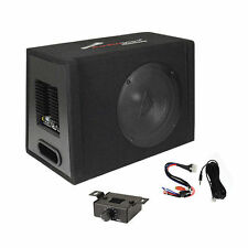 """12"""" Car Audio Power Amp + Sub Woofer Active BASS BOX Loaded Powered Subwoofer"""