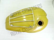 TRIUMPH T120 BONNEVILLE 3.5 GALLON PAINTED FUEL TANK WITH PARCEL RACK (code864)