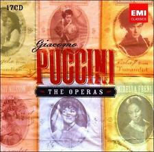 Puccini: The Operas (17 CDs), New Music
