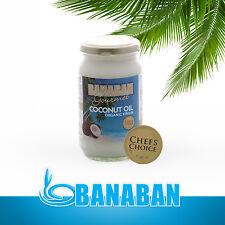 BANABAN GOURMET Organic Virgin Coconut Oil 350ml