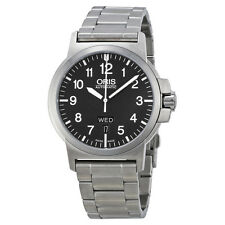 Oris BC3 Black Dial Stainless Steel Mens Watch 735-7641-4164MB