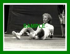 Original press photo-vitas gerulaitis v tomas smid wimbledon 1982