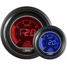 Prosport EVO 52mm Carburante Auto Manometro Bar Rosso Blu Schermo Digitale LCD