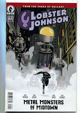 Lobster Johnson #1  Unread New / Near Mint Metal Monsters Of Midtown   MD7