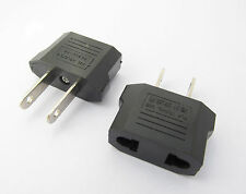 10x Travel Charger Wall AC Power Plug Adapter Converter EU Europe EURO to US USA