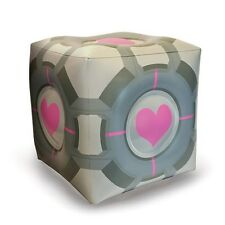 Portal 2 Companion Cube Inflatable Ottoman - Officially Licensed Valve