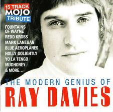 MOJO The Modern Genius Of Ray Davies 15-track CD NEW Mark Lanegan Yo La Tengo