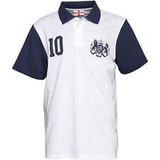 Inglaterra Pique Polo Camisa Medio (Original)