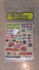 PineCar Dry Transfer Decals - Off Road P315     (B 26)