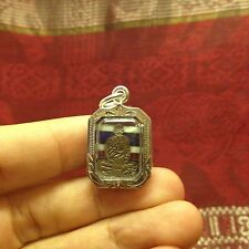 Mini Jaokun Nor Wat Thepsirin Thai Buddha Amulet Luck Wealth Success Protect