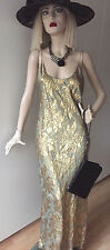 Jean Paul Gaultier-gran noche vestido para la dama-S-vintage