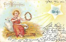 BG8403 baby jesus child  weihnachten christmas greetings germany
