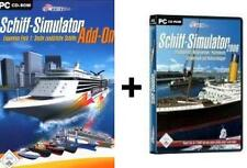 Barco simulador 2006 + Expansion Pack 1 * Deutsch como nuevo