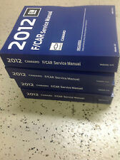 2012 Chevrolet Chevy CAMARO Service Shop Repair Manual Set FACTORY NEW 2012