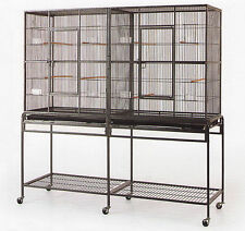 NEW LARGE Double Wrought Iron Ferret Sugar Glider Rat Mice Small Animal Cage 174