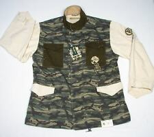 Pepe Zip Front Green Camouflage Covertible Coat Jacket Mens 4XL XXXXL NWT