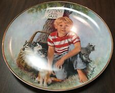 Kittens for Sale by John McClelland in The World of Children  Collector Plate