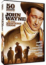 JOHN WAYNE & THE WESTERN TRIOS: 50 MOVIE ROUNDUP - DVD - Sealed Region 1