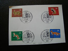 ALLEMAGNE (rfa) - carte 4/4/1967 (cy64) germany