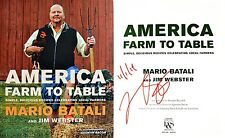 Mario Batali~SIGNED & DATED~America: Farm to Table~1st/1st HC + Photos!