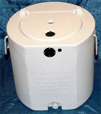 Keepalive 20 Gallon All White Bait Well Tank with KA 500 aerator aeration system