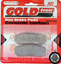 Yamaha AT 115 Front Sintered Brake Pads 2005-2007 - Goldfren - AT115 AT-115