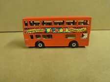 MATCHBOX SUPERFAST N° 17 MADE IN ENGLAND 1972 - DOUBLE DECKER BUS THE LONDONER