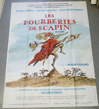 Affiche de cinéma : LES FOURBERIES DE SCAPIN de Roger COGGIO