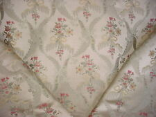 12y BEAUTIFUL KRAVET / LEE JOFA RIBBON FLORAL BROCADE UPHOLSTERY DRAPERY FABRIC