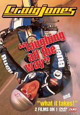 CRAIG JONES - LAUGHING ALL THE WAY & WHAT IT TAKES - DVD - REGION 2 UK
