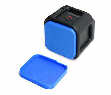 Linsen Schutz f. GoPro HERO 4 Session Lens Cap Protector Abdeckung Kappe Blue