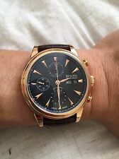 Bulova AccuSwiss 64C105 Gemini Men's Swiss Made Automatic Chronograph Watch