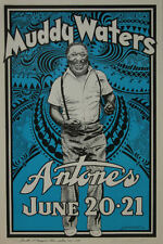 MUDDY WATERS ROCK POSTER SIGNED DANNY GARRETT LIMITED EDITION