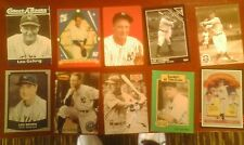 1972 LOU GEHRIG PLAYING CARD + 1992 DELPHI PROMO +WORLD WIDE 1986 + 6 YANKEES NY
