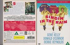 SINGIN' IN THE RAIN DVD 2 DISC SPECIAL EDITION GENE KELLY