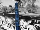 Premium Blue Digital Camo Boat Watercraft Trailer Guide Ons On Pads Covers  36