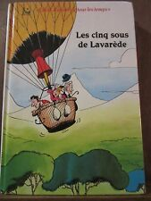Paul D'Ivoi: Les Cinq Sous de Lavarède/ Editions Librairie Samir, 1991