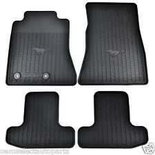 OEM NEW 15-17 Ford Mustang All Weather Vinyl Contour Floor Mats FR3Z6313300BA