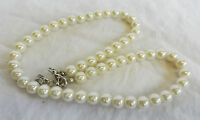 White Japanese Cultured Pearl Necklace - Fabulous Classy Classic Jewellery