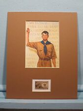 Boy Scouts: Rockwell's Boy Scout Oath & Boy Scout Stamp of the 40th Anniversary